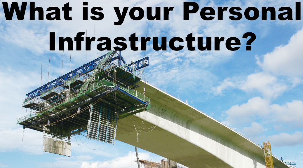 Create Personal Infrastructure or Fail  (just like in business)